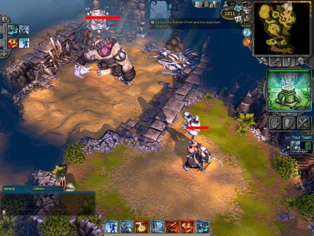 Battleforge kostenloses strategie spiel von ea