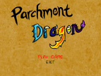 Fantasy-Shooter Parchment Dragon