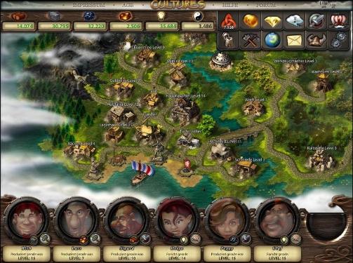 cultures Online Browserspiel spielen