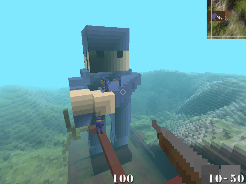 Ace Of Spades Mix Zwischen Minecraft Und Team Fortress - Minecraft spielen original