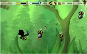 Bienen Ballern spielen