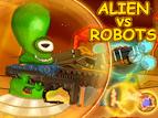 Flashgame Alien vs. Robots spielen