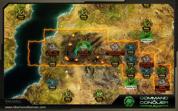 tiberium alliances Strategie Spiel