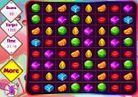 Candy Match Flashspiel Puzzle