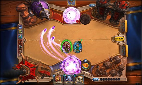 Strategie Blizzard Heartstone Online Karten Spiel