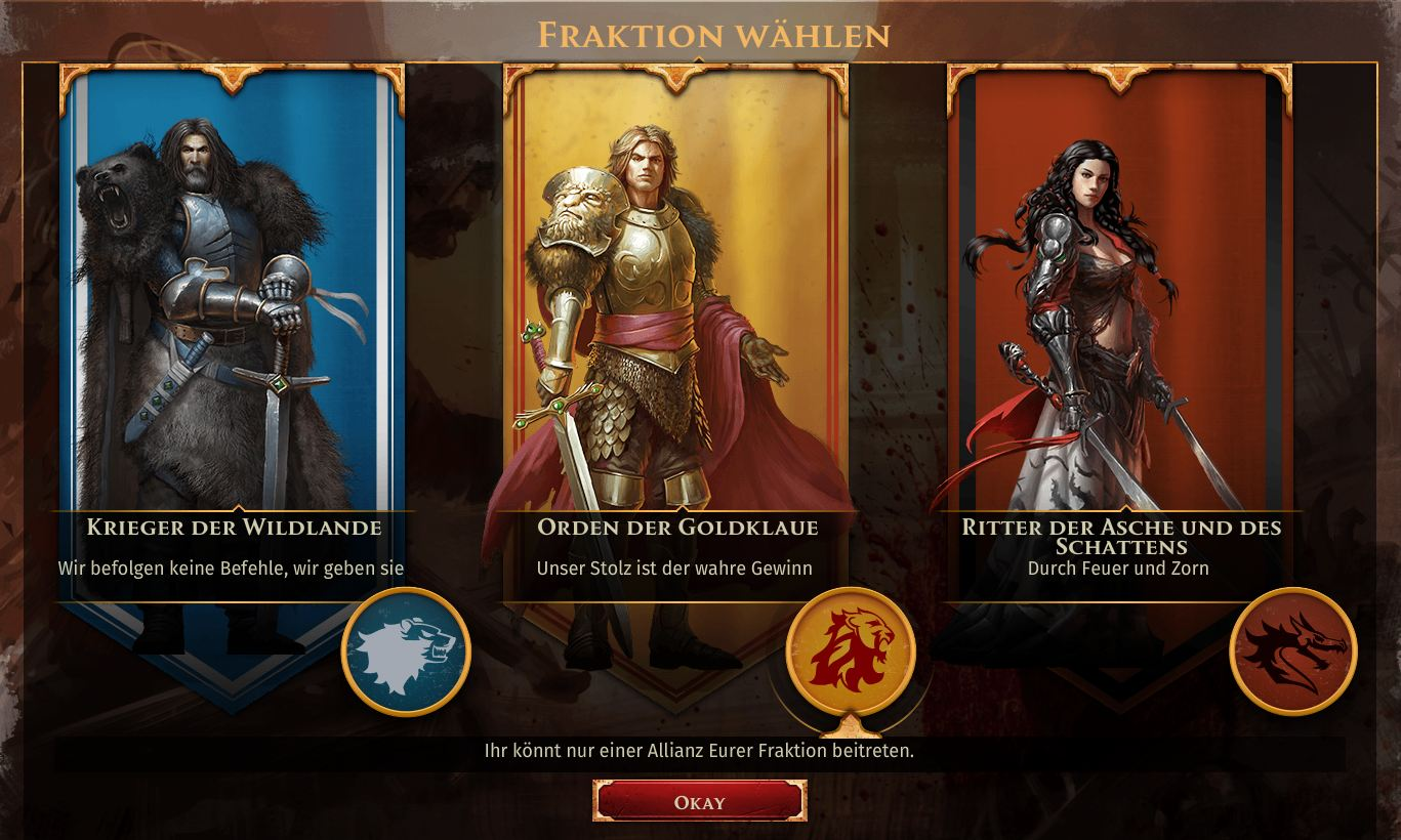 lord of honor fraktionen
