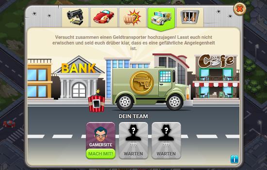 Geldtransport Überfall Verbrechen